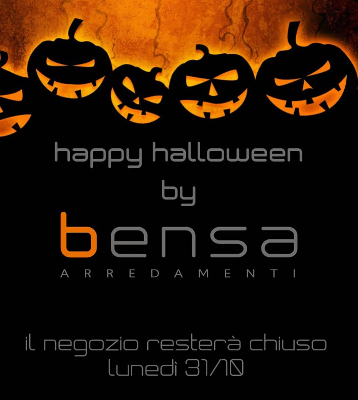 happy halloween by Bensa!