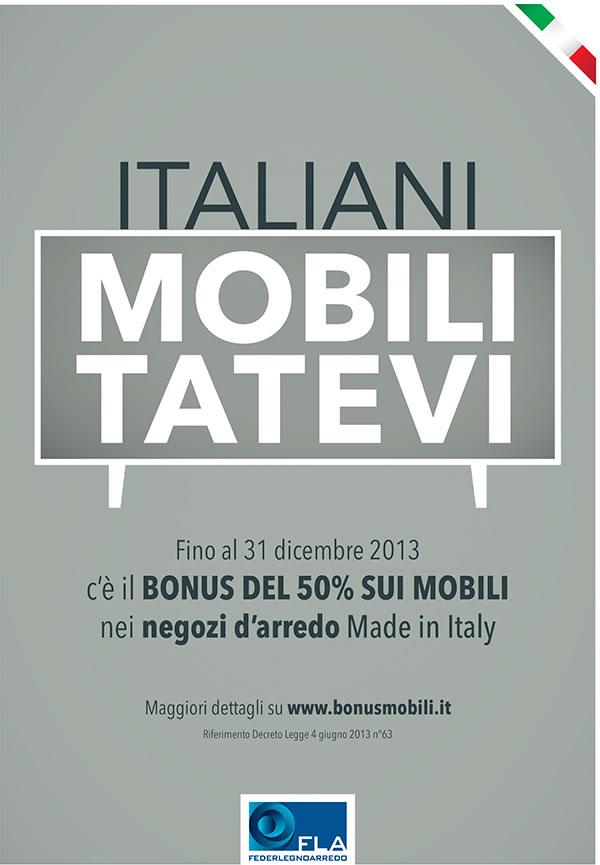 Italiani mobilitatevi bonus mobili il blog di bensa arredamenti - Bonus mobili iva ...